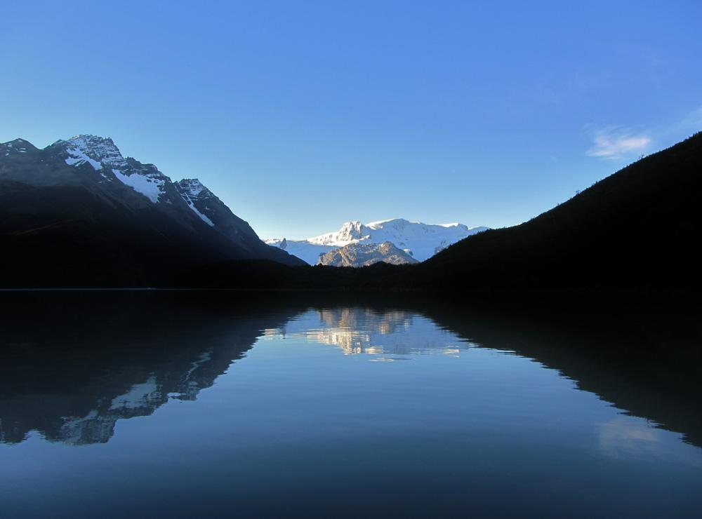 Cerro Cubo at Lake Dickson