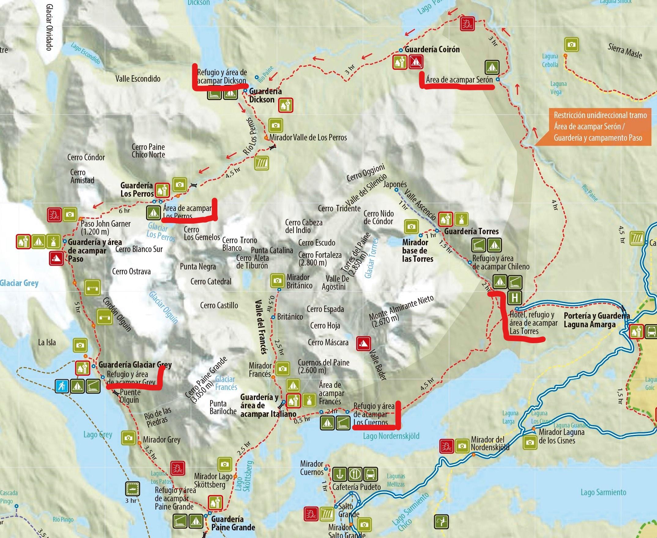"""O"" Trek des Torres del Paine"