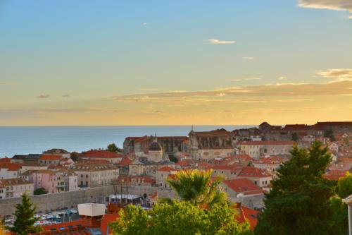 Dubrovnik Altstadt Sonnenuntergang