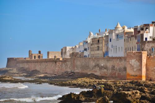 Essaouira Marokko, alte Stadtmauer